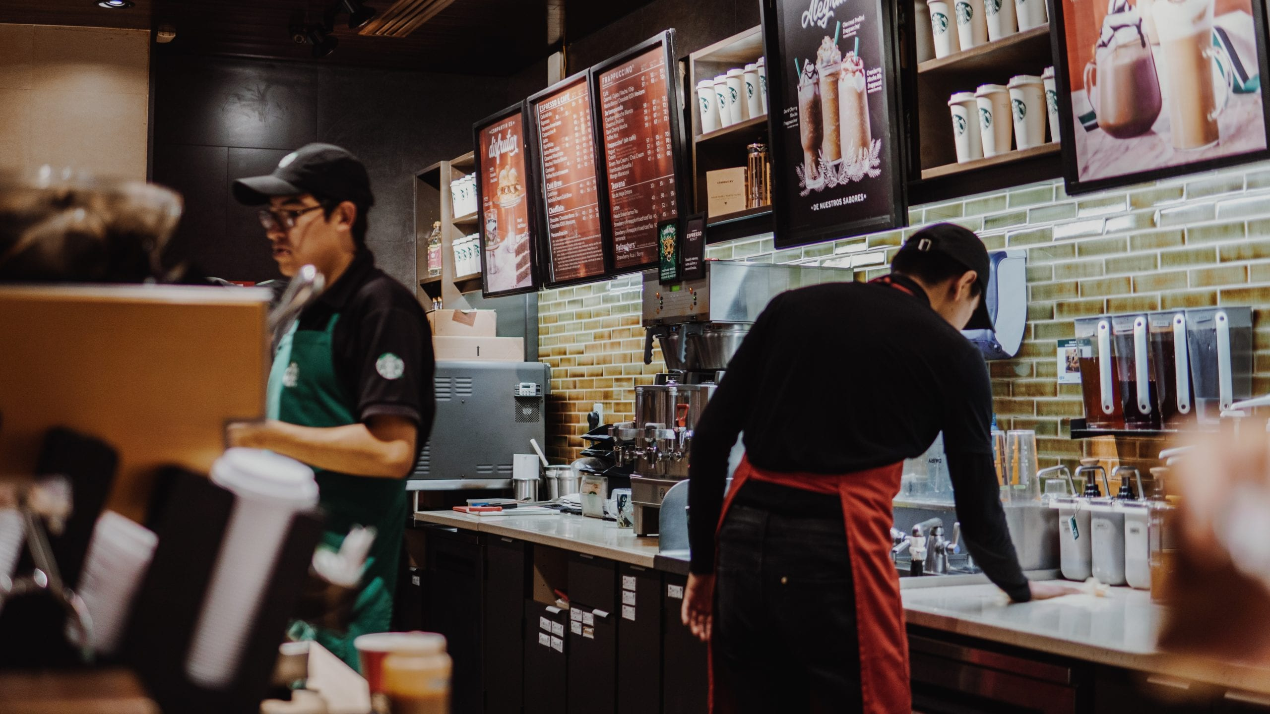 Starbucks Employees - Project Photo